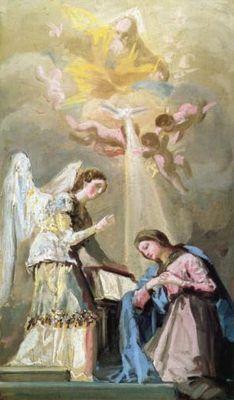 L'Annonciation, par Francisco Goya
