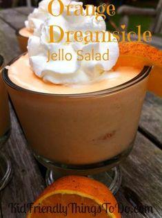 Orange Dreamsicle Jello Salad Recipe. The best!