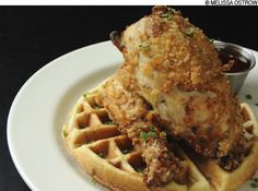Trina's Starlite Lounge - Inman Sq, Somerville, MA -- Bon Apetit rated as one of Top 10 places for chicken & waffles