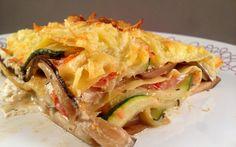 Griekse lasagne (vegetarisch)