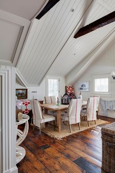 white wood ceiling