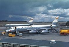 Convair CV-990 Coronado flew by Spantax - PJ de Jong