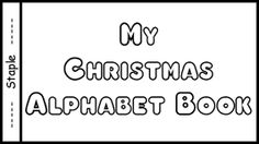 My Christmas Alphabet Book