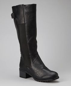 Take a look at this Black Teka Boot by Bumper on #zulily today!