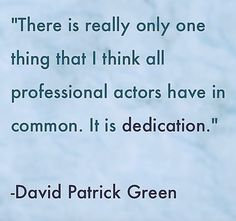 #expert #acting #advice #tips # quotes #backstage