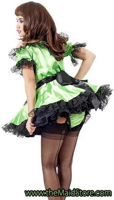 Satin French Maid