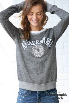 There's no sweater like an Abercrombie sweater! Cosy chic.