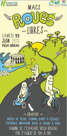 Macs Roues Libres 2013 à Vieux Boucau les Bains / Landes. Le samedi 1er juin 2013 à Vieux Boucau les Bains.