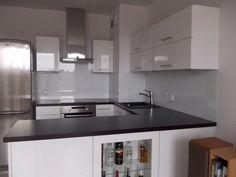 Może Kitchen Island, Kitchen Cabinets, Home Decor, Kitchen Design, Island Kitchen, Decoration Home, Room Decor, Cabinets, Home Interior Design