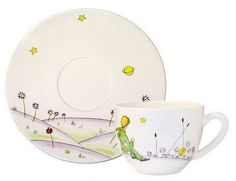 Le Petit Prince tea cup Gien France www.gien.com