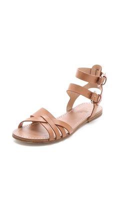 Belle flat sandals on sale.