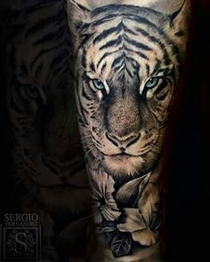 Tiger tattoo                                                       …