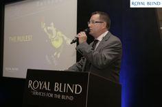 Royal Blind Try & Score Celebrity Quiz Night in Edinburgh 2013 Hosted By Scott Wilson