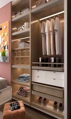 Wardrobe Design Bedroom, Bedroom Decor, Cute Makeup Looks, Design Room, Decoration, Diy Projects, Home Decor, Bedroom Cupboards, Ideas