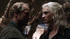 Jorah Mormont and Viserys Targaryen.