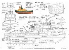 Image result for Model Tug Boat Plans