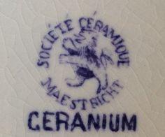 Société Céramique Maestricht - Geranium