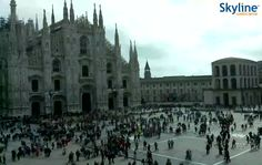 Live Cam #Milan Cathedral. #Italy #Travel #Livecam