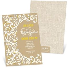 New Bridal Shower Invitations from @Pear Tree Greetings that are perfect for any bride-to-be! #bridalshowerinvitations #bridalshower #peartreegreetings