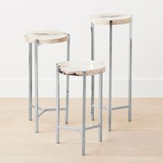 homenature - m-16 cube acrylic end table