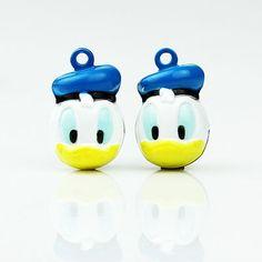 Donald Duck Bell Small Decorative Cartoon Bell Cute Donald Duck | WholePort.com#handmade#$0.69
