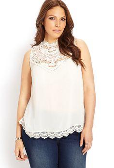 Boho Babe Crochet Top | FOREVER21 PLUS - 2000089328