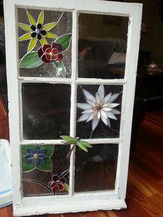 3 d flower window *
