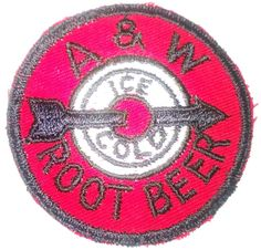 Vintage A&W Rootbeer Clothing Patch New Old Stock #AW #bigmikefoundit