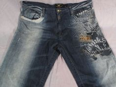 3de8092eefb Men's Akademiks Pants Blue Jeans Big Size 42 Tall Denim #Akademiks #Denim
