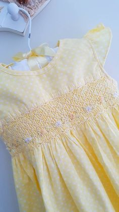 Check out this item in my Etsy shop https://www.etsy.com/au/listing/276069702/beautiful-pale-yellow-polka-dot-hand