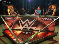 Extreme Rules Kickoff panel.
