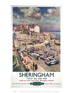 Sheringham Art Print