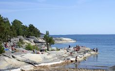 Stockholm Archipelago, link to map of the islands