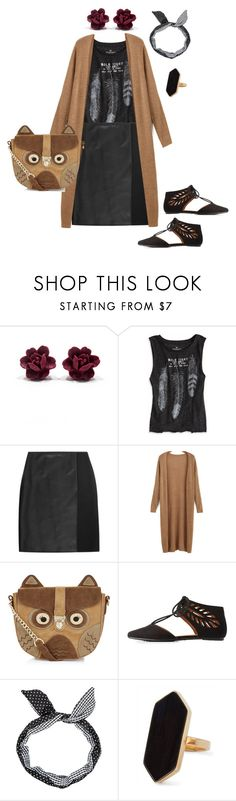 """""""Sept 14.2"""" by sparkles-and-salamanders ❤ liked on Polyvore featuring American Eagle Outfitters, Fendi, Accessorize, Bamboo and Jaeger"""