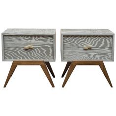 Maximilian for Karp Furniture Nightstands   From a unique collection of antique and modern night stands at https://www.1stdibs.com/furniture/tables/night-stands/