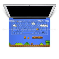 Fits 11 inch Air by Demon Decal Pickaxes Macbook Keyboard Decals