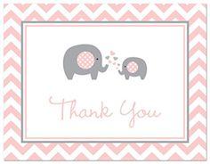 50 Cnt Pink Grey Chevron Elephant Baby Thank You Cards My... https://www.amazon.com/dp/B00UKKK70S/ref=cm_sw_r_pi_dp_Jayzxb967GSZE