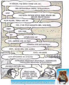 Karikatür: Kafirlerle eğlenmeyi seviyorum...