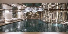 Le spa du Cheval Blanc à Courchevel
