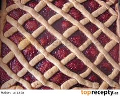 Oškvarkový mriežkový koláč/ Škvarkový mřížkový koláč Waffles, Pie, Cookies, Breakfast, Food, Torte, Crack Crackers, Morning Coffee, Cake