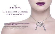 Valentine's day: Lock and key Collection by Charriol