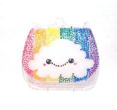 Kawaii Rainbow Cloud Purse Favor Box / Gift Box by DoodlelyDoo