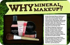 Be choosy with the makeup you use...100% Pure minerals from #JordanEssentials
