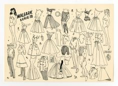78.6427: Bente & Birgit | paper doll | Paper Dolls | Dolls | National Museum of Play Online Collections | The Strong