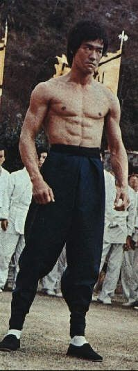 Enter the Dragon - They say Bruce Lee was extremely charismatic.  I bet a great deal of it came from the confidence of knowing he was a complete badass!