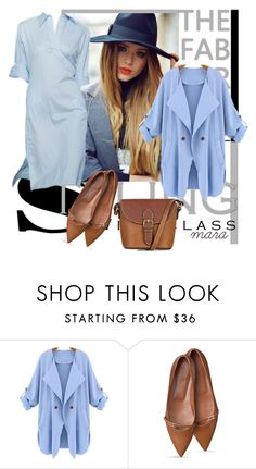 """Light Monday Blues and a Holiday... :-)"" by marastyle ❤ liked on Polyvore featuring Christian Dior, WithChic and Topshop"