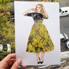 Conceptual fashion illustration #evatornadoblog #iloveit #mustpin #mycollection @evatornado