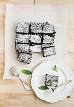 Guilt-free Sweet Potato Chocolate Brownies : gluten-free, grain-free, vegan, refined sugar free