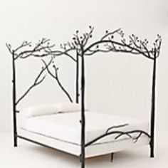 Unique bed frame.