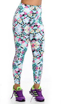 Calça Legging Estampada -Shopping de Atacado - Trimoda  http://www.trimoda.com.br/collections/moda-fitness-atacado/products/calca-legging-estampada-1